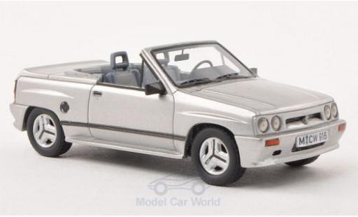 Opel Corsa 1/43 Neo Limited 300 Spider Irmscher i120 grise 1985 miniature