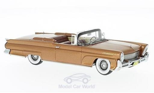 Lincoln Continental 1/43 Neo MKIII Convertible kupfer 1958 miniature