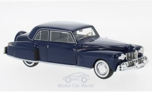 Lincoln Continental 1/43 Neo V12 Coupe bleue 1948 miniature