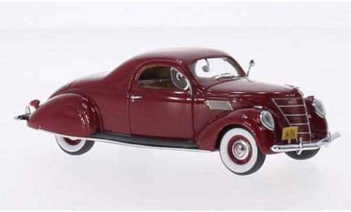 Lincoln Zephyr 1/43 Neo Coupe rouge 1937 miniature
