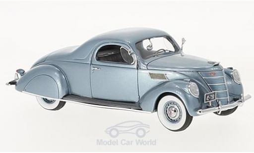 Lincoln Zephyr 1/43 Neo Coupe métallisé bleue 1937 miniature