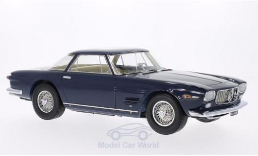 Maserati 5000 GT 1/18 Neo Allemano dunkelbleue 1960 Türen und Hauben geschlossen miniature
