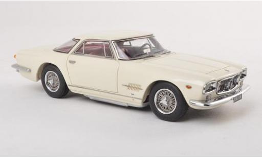 Maserati 5000 GT 1/43 Neo Allemano white 1960 diecast model cars
