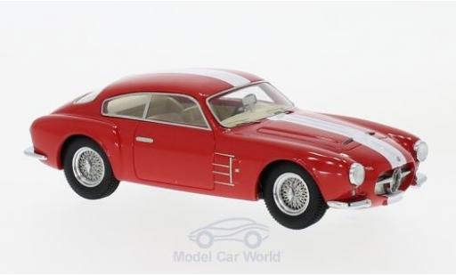 Maserati A6 1/43 Neo G 2000 Zagato red/white 1956 diecast model cars