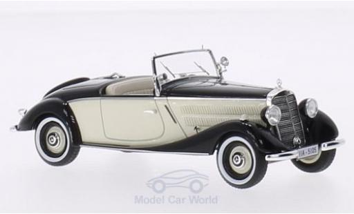 Mercedes 170 1/43 Neo V Roadster noire/beige 1936 miniature