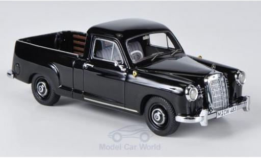 Mercedes 180 1/43 Neo (W120) Bakkie noire miniature