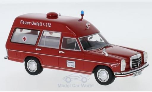 Mercedes 220 1/43 Neo D (W115) Binz Ambulanz miniatura