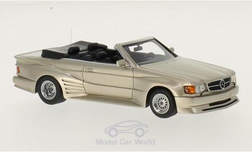 Mercedes 500 SEC 1/43 Neo Koenig Specials metallise beige miniature