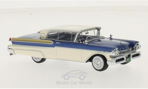 Mercury Turnpike 1/43 Neo Coupe metallise bleue/blanche 1957 miniature