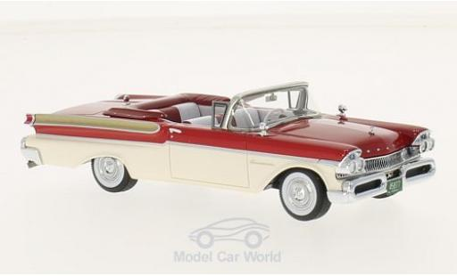 Mercury Turnpike 1/43 Neo Cruiser Convertible rouge/blanche 1957 miniature