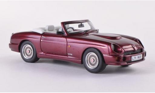 MG RV8 1/43 Neo metallise rouge RHD 1993 miniature