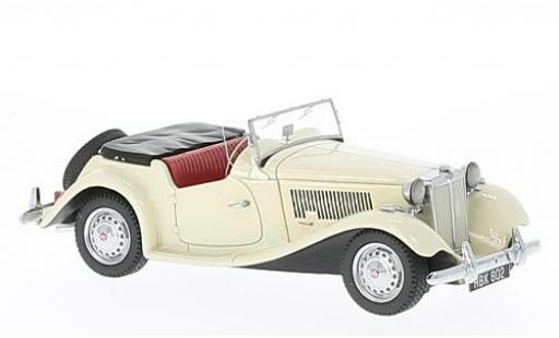 MG TD 1/43 Neo MkII bianco RHD 1950 modellino in miniatura