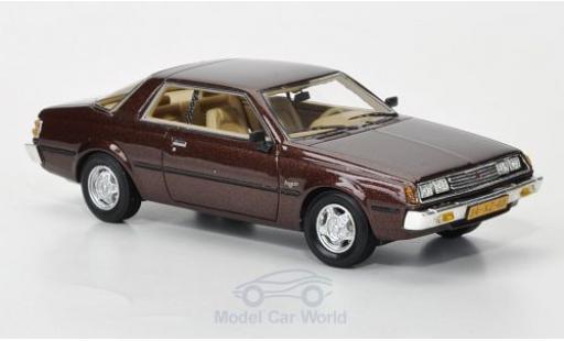 Mitsubishi Sapporo 1/43 Neo MkI Coupe metallise marron 1982 miniature