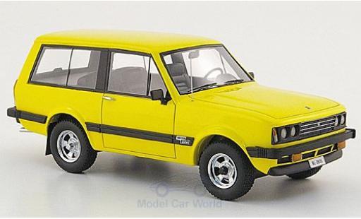Monteverdi Safari 1/43 Neo 5.7 V8 jaune 1976 miniature