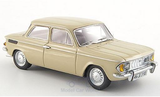 NSU 1200 1/43 Neo /C beige 1969 miniature