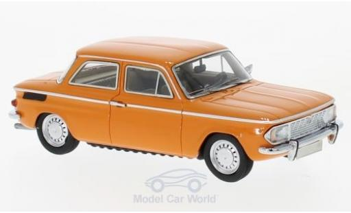 NSU 1200 1/43 Neo C orange 1969 miniature