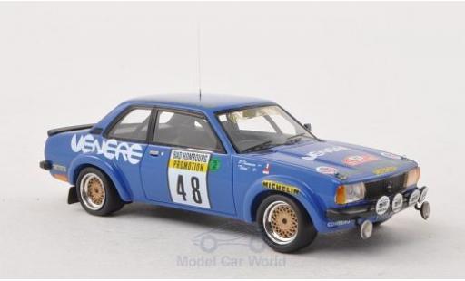 Opel Ascona C 1/43 Neo B Gr.2 No.48 Venere/Publimmo Rallye Monte-arlo 1981 miniature