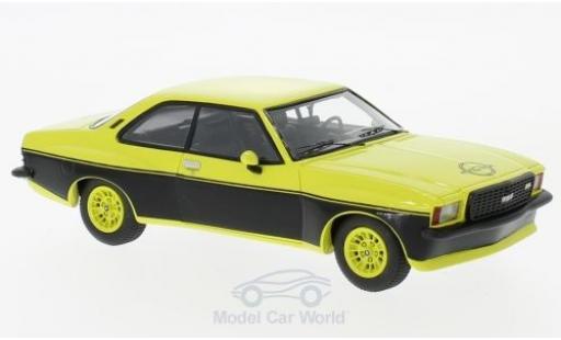 Opel Commodore C 1/43 Neo B GS/E Steinmetz jaune/noire 1974 miniature