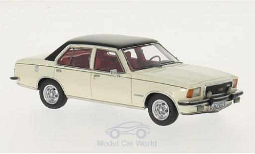 Opel Commodore C 1/43 Neo B GS/E blanche/noire 1973 4-Türer miniature