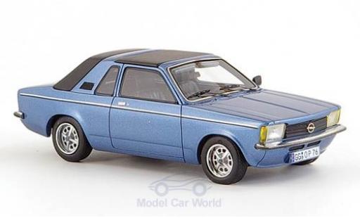 Opel Kadett E 1/43 Neo C Aero metallic-blue 1978 Verdeck geschlossen diecast