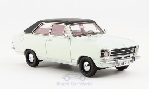 Opel Olympia 1/43 Neo A LS blanche/matt-noire 1970 2-Türer miniature