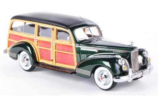 Packard 110 1/43 Neo Deluxe Wagon metallise verte/Holzoptik 1941 miniature