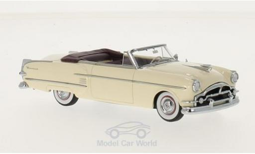 Packard Pacific 1/43 Neo Convertible beige/rouge 1954 miniature