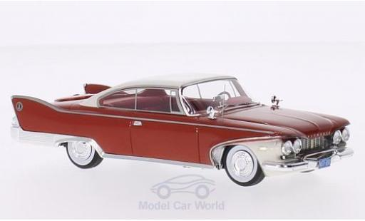 Plymouth Fury 1/43 Neo 2-Door Hardtop Coupe rouge/blanche 1960 miniature