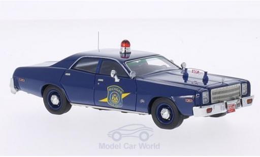 Plymouth Fury 1/43 Neo Michigan State Police 1977 Polizei (USA) miniature
