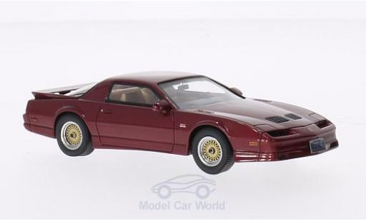 Pontiac Firebird 1/43 Neo Trans Am GTA metallic-dunkelrouge 1988 miniature