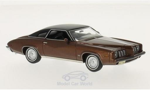 Pontiac Grand Am 1/43 Neo metallise marron/matt-noire 1973 2-Door miniature