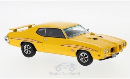 Pontiac GTO 1/43 Neo The Judge jaune 1970 miniature