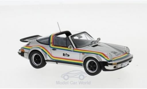 Porsche 930 Turbo 1/43 Neo 911 Targa BB grey/Dekor 1982 diecast model cars