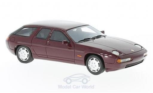 Porsche 928 1/43 Neo H50 Concept rouge 1987 miniature