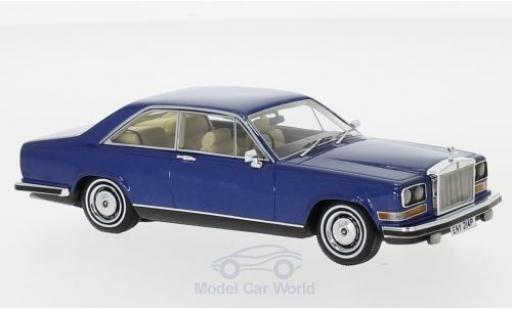 Rolls Royce Camargue 1/43 Neo métallisé bleue RHD 1975 miniature