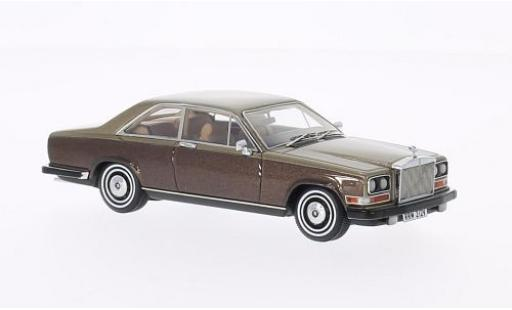 Rolls Royce Camargue 1/43 Neo metallise brown/gold 1975 diecast model cars