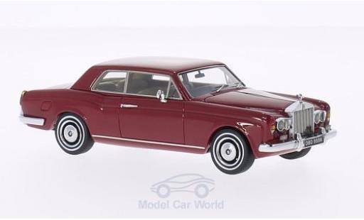 Rolls Royce Corniche 1/43 Neo FHC rouge RHD 1971 miniature