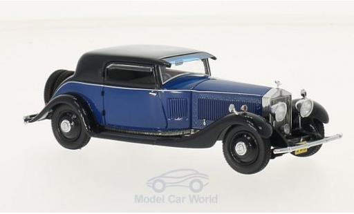 Rolls Royce Phantom 1/43 Neo II Continental Windovers Coupe bleue/dunkelbleue 1932 miniature