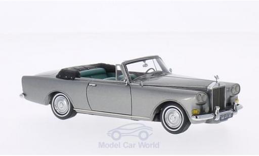 Rolls Royce Silver Cloud 1/43 Neo III Mulliner Park Ward DHC metallise grise 1965 miniature