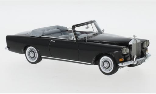 Rolls Royce Silver Cloud 1/43 Neo III Mulliner Park Ward DHC black RHD 1963 diecast model cars