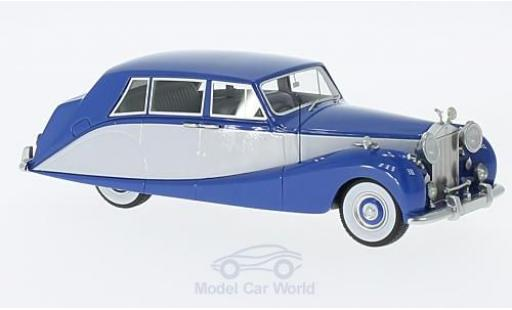 Rolls Royce Silver Wraith 1/43 Neo Hooper Empress Line bleue/grise RHD 1956 miniature