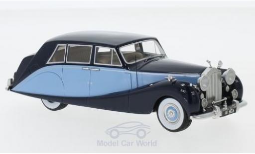 Rolls Royce Silver Wraith 1/43 Neo Hooper Empress Line bleue/bleue RHD 1956 miniature