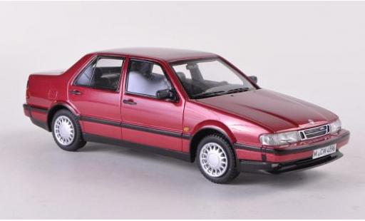Saab 9000 1/43 Neo CDE metallise red 1989 diecast model cars