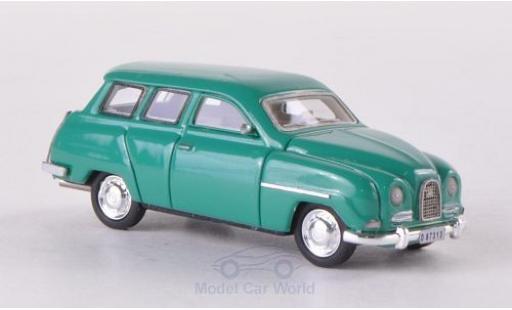 Saab 95 1/87 Neo verte 1961 miniature