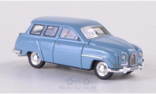 Saab 95 1/87 Neo bleue miniature