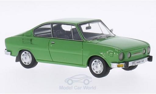 Skoda 110 1/43 Neo R verte 1972 miniature