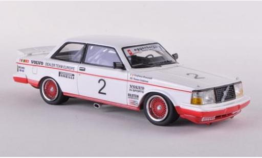 Volvo 240 1/43 Neo Turbo No.2 Eggenberger Motorsport ETCC 1985 diecast model cars