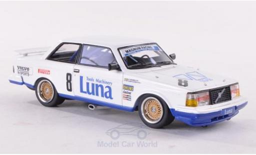 Volvo 240 Turbo 1/43 Neo No.8 Magnum Racing ETCC 1985 A.Olofsson diecast model cars