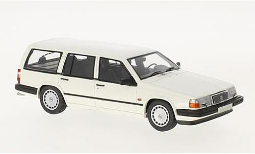 Volvo 940 1/43 Neo GL Estate white 1990 diecast model cars