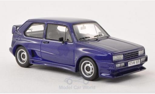 Volkswagen Golf V 1/43 Neo I Rieger GTO metallise lila 1980 miniature